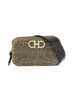 Ferragamo metallic Gancini belt bag