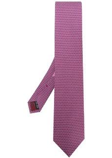Ferragamo micro patterned tie