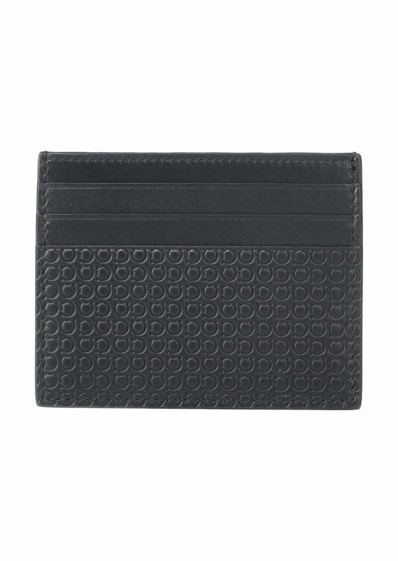Ferragamo Mini Gancio Card Holder