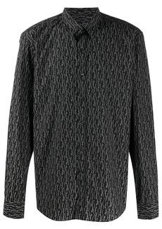 Ferragamo mini logo-print shirt
