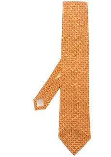 Ferragamo monogram print tie