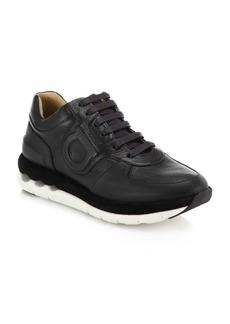 Ferragamo Morgan Leather Sneakers
