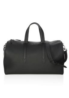 Ferragamo Muflone Leather Weekender Bag