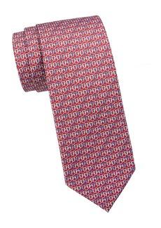 Ferragamo Multi Gancini Silk Tie