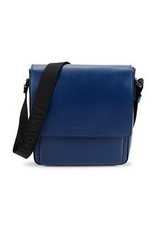 Ferragamo Outlet Riviera Leather Crossbody Bag