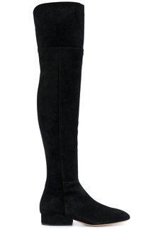 Ferragamo over the knee boots