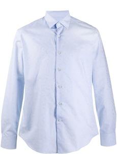 Ferragamo paisley-jacquard shirt