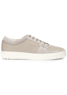 Ferragamo panelled low-top sneakers