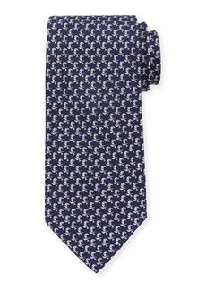 Ferragamo Parrots Silk Tie