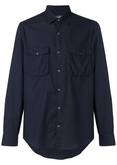 Ferragamo patch pocket shirt