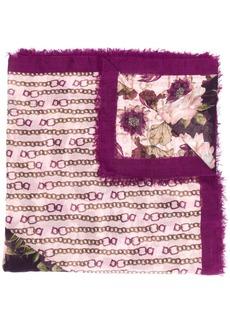Ferragamo patchwork floral print scarf