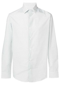 Ferragamo pattern button shirt