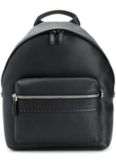 Ferragamo pebbled microstud backpack