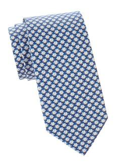 Ferragamo Penguins Silk Tie