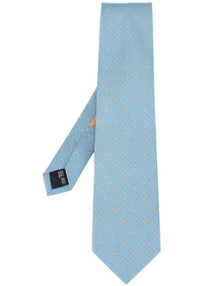 Ferragamo playing cards tie