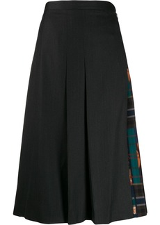 Ferragamo pleated midi skirt