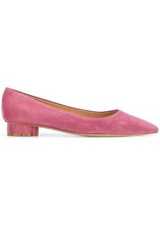 Ferragamo pointed ballerina shoes