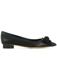 Ferragamo pointed ballerina shoes