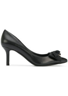 Ferragamo pointed bow pumps