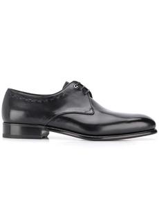 Ferragamo pointed derby shoes