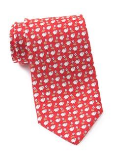 Ferragamo Print Silk Tie