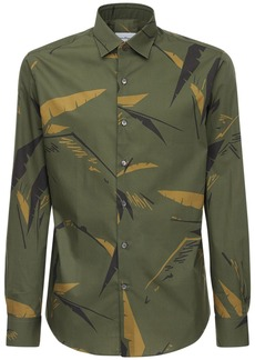 Ferragamo Printed Cotton Shirt