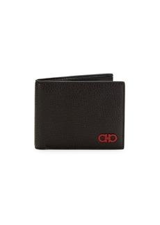 Ferragamo Printed Leather Wallet