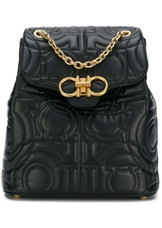 Ferragamo quilted Gancini backpack