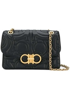 Ferragamo quilted Gancini flap bag
