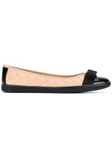 Ferragamo quilted Vara ballerina shoes