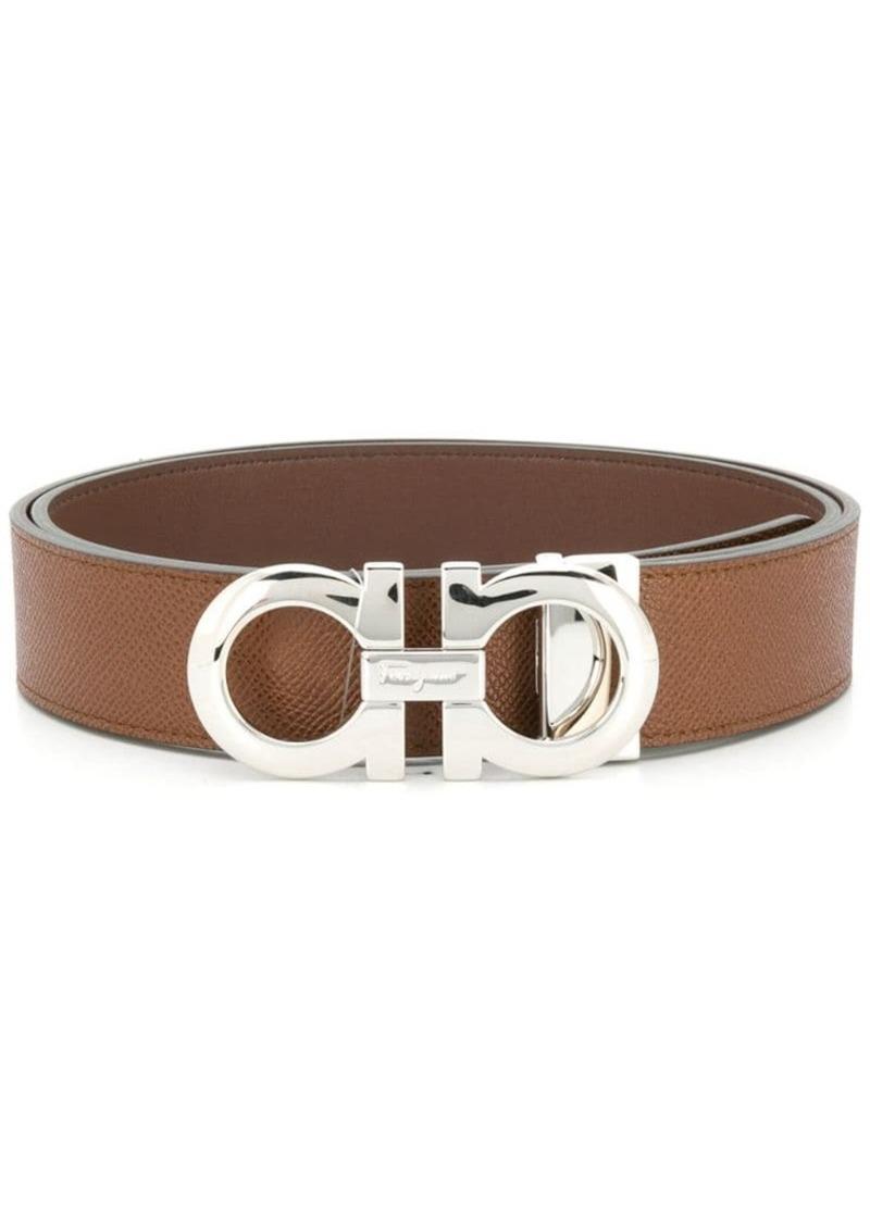 Ferragamo reversible adjustable Gancini belt