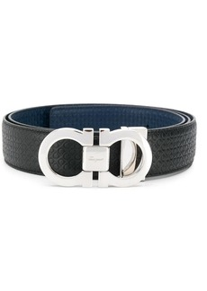 Ferragamo reversible and adjustable Gancini belt