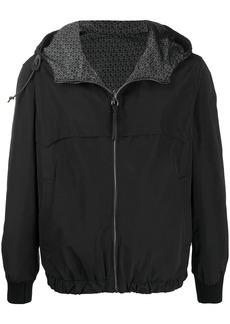 Ferragamo reversible hooded jacket