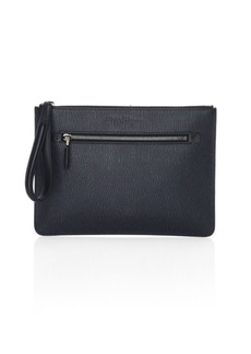 Ferragamo Revival 3.0 Leather Travel Document Holder