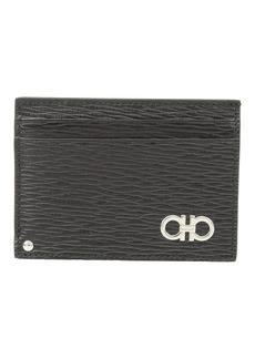 Ferragamo Revival Gancio Credit Card Case - 66A061
