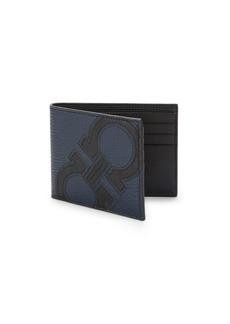 Ferragamo Revival Maxy Leather Bi-Fold Wallet