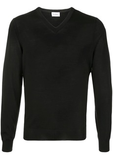 Ferragamo ribbed V-neck jumper