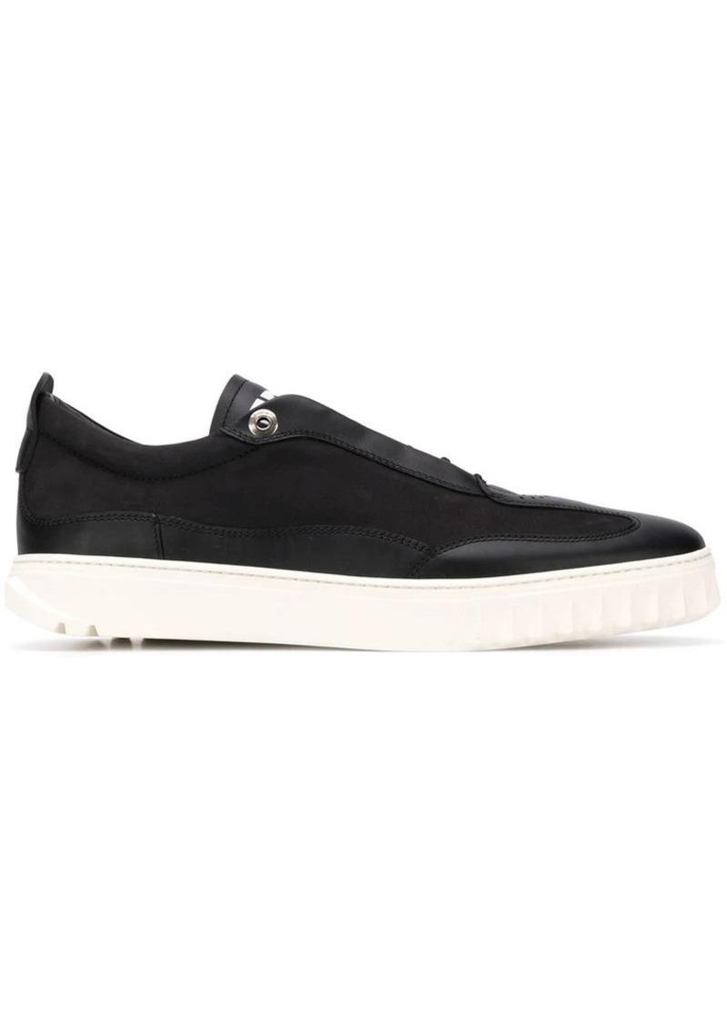 Ferragamo ridge sole sneakers
