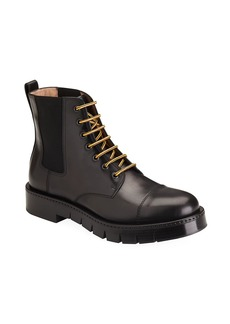 Ferragamo Rosco Leather Ankle Boots