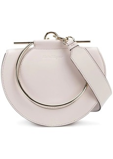 Ferragamo round-shaped Giancini handle bag