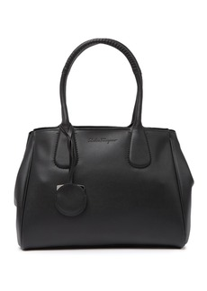 Ferragamo Royal Doubler Leather  Tote Bag