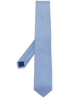 Ferragamo sailboat print tie