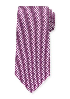 Ferragamo Sailboats Silk Tie