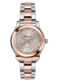 Salvatore Ferragamo 1898 Bracelet Watch, 33mm