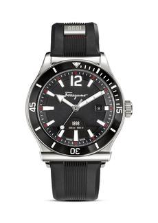 Salvatore Ferragamo 1898 Sport Stainless Steel Black Watch, 43mm