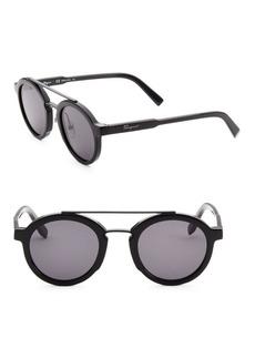 Ferragamo 49MM Square Sunglasses