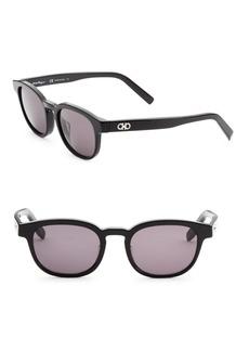 Ferragamo 50MM Square Sunglasses