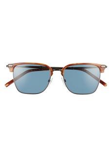 Salvatore Ferragamo 53mm Polarized Square Sunglasses
