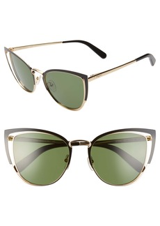 Salvatore Ferragamo 54mm Cat Eye Sunglasses