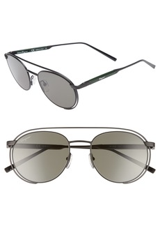 Salvatore Ferragamo 54mm Round Sunglasses